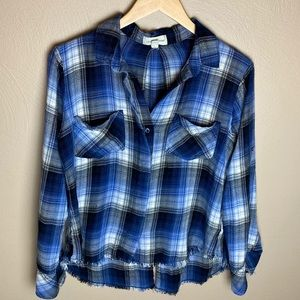 Cloth & Stone Cropped Flannel